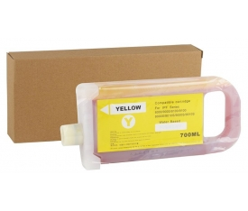 Canon PFI-701YL Yellow Muadil  Kartuş IPF-8000-9000 (700ml) (Chipli)