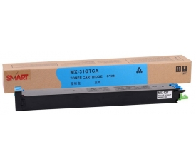 Sharp MX-31GTCA Smart Mavi Toner MX2600-2301-3100-4100-5000-5001 (15k)